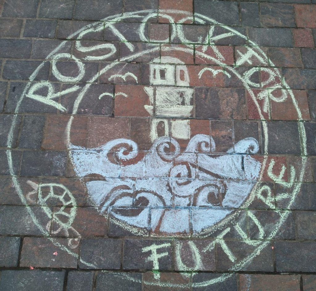 Rostock for Future Logo Kreide